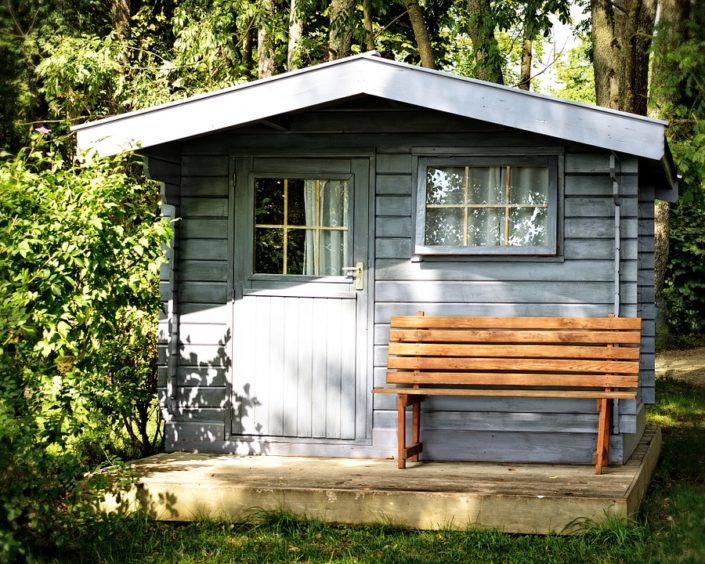 Gartenhaus im Wohnungseigentum aufstellen